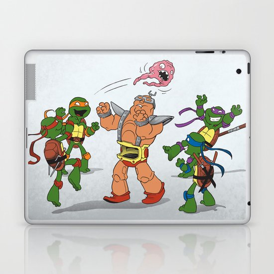Keep Away! Laptop & iPad Skin