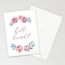 Hello Beautiful Stationery Cards