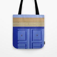 Adobe Wall Left Tote Bag