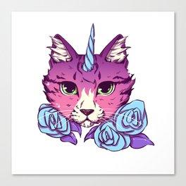 Magical Cat Canvas Print