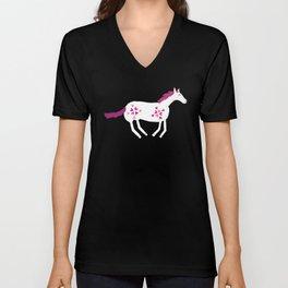 Lucky Horses Unisex V-Neck