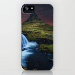 Kikjufell, Iceland iPhone Case