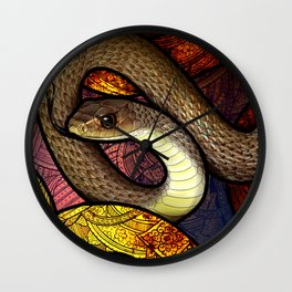 Indo-Chinese Rat Snake Wall Clock