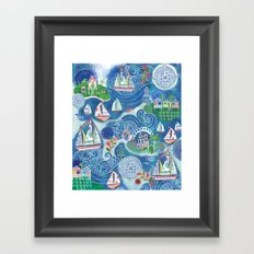 Dream Boats Framed Art Print