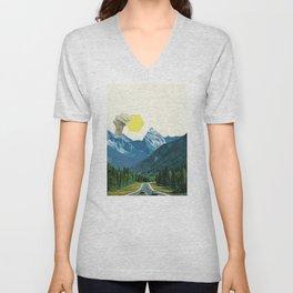 Moving Mountains Unisex V-Neck