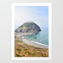 Beautiful view of the Oregon Coast. Art Print