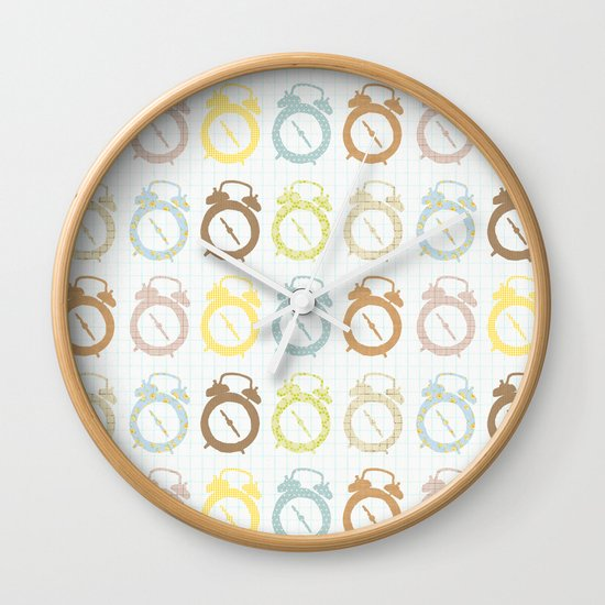 clocks pattern Wall Clock