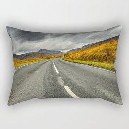 Winding Welsh Road Rectangular Pillow