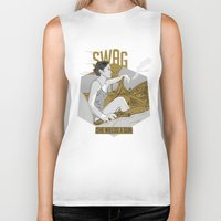 swag Biker Tanks featuring SWAG by RJ Artworks