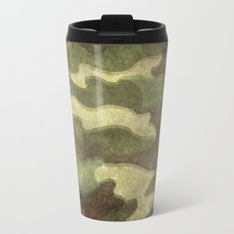 Distressed Camouflage Travel Mug