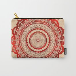 omulyána red gallery mandala Carry-All Pouch