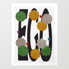 """AWARD"" - Blank Poster Art Print"