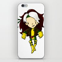 rogue iPhone & iPod Skins featuring ROGUE by Space Bat designs
