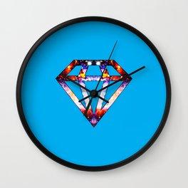Cosmic Diamond Wall Clock