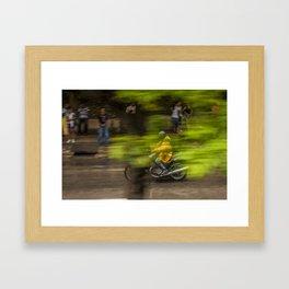 Jawa in Havana Framed Art Print