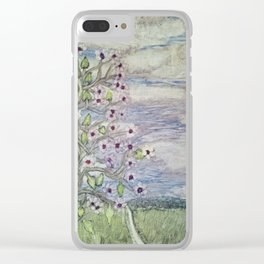 Flowers on the Vine Clear iPhone Case