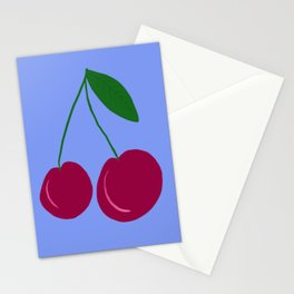 Two Cherries (they are best friends) Stationery Cards