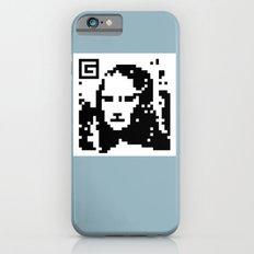 QR- Monalisa iPhone 6s Slim Case