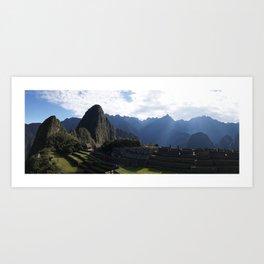 Machu Pichu Art Print