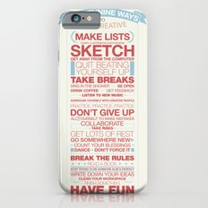 29 Ways to Stay Creative Slim Case iPhone 6s