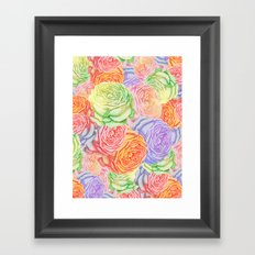 Yet a Little Summer Framed Art Print