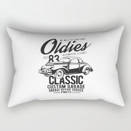 oldies automotive legend Rectangular Pillow