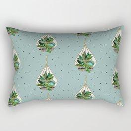Hanging Terrariums Rectangular Pillow