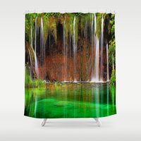 oregon Shower Curtains featuring Oregon Shower by Robin Curtiss