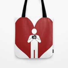 T-Shirt I Love Photography T-Shirt Tote Bag