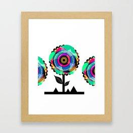 Fleurs 05 Framed Art Print
