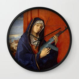 It is possible to be a woman in many ways. Wall Clock
