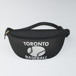 Toronto Baseball Baseball Bat USA Fanny Pack