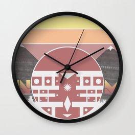 Mountain Majesty Wall Clock