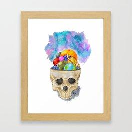 space in my head Framed Art Print