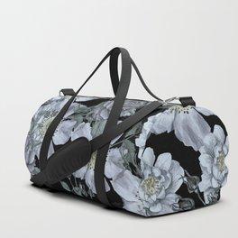 Roses at Night Duffle Bag
