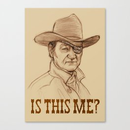 Is This Me? Canvas Print