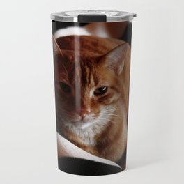 Is it time to get up? Travel Mug