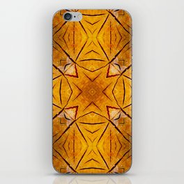 Kaleidoscope Tree rings iPhone Skin