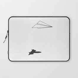 Paper Airplane Dreams Laptop Sleeve
