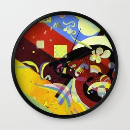 Art Abstract Untitled Vasily Kandinsky 8468 Wall Clock