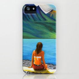 Epuyén Lake  iPhone Case