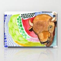 buffalo iPad Cases featuring BUFFALO by dorc