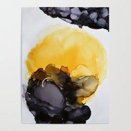 Black & Yellow Smoked Poster
