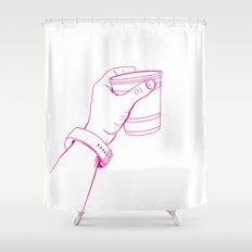 The Party Cup - v1 Shower Curtain