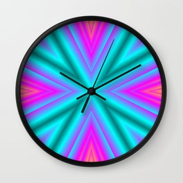 Magic of colors Wall Clock