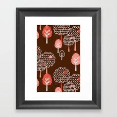 Forest Wonderland Framed Art Print