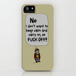 Leave me alone - 7a iPhone Case