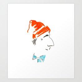 Jacques-Yves Cousteau Art Print