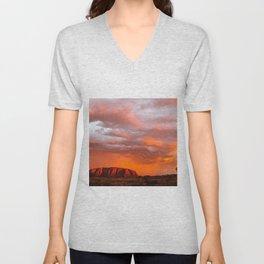 Uluru's Finest Unisex V-Neck