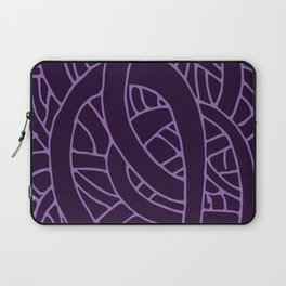 Microcosm in Purple Laptop Sleeve